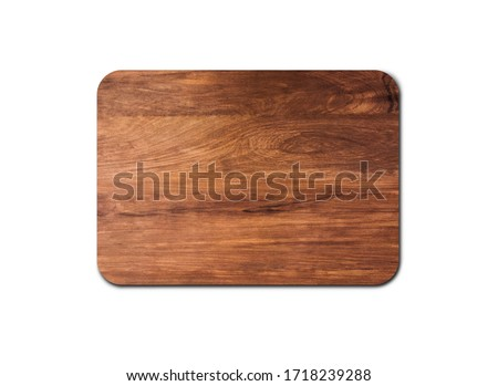 Old wood board texture isolated on white background with copy space for design or work. clipping path Сток-фото ©