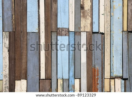 Old wood fence background