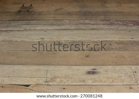 old wood floor #270081248