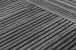 old wood floor texture with diagonal line view from above