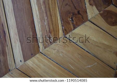old wood frame vintage style close up #1190514085