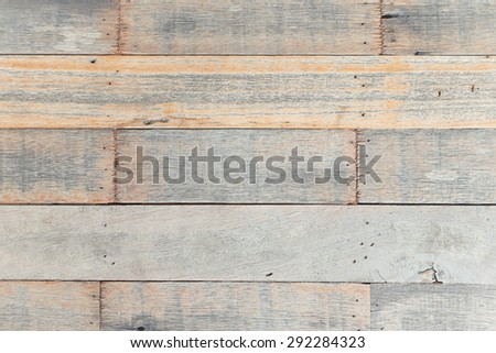 Old wood in vintage style texture and background.