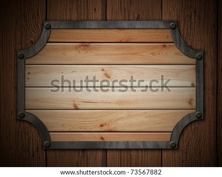 old wood panel on the wooden wall grunge