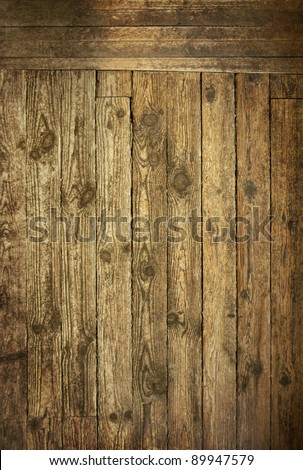 Old wood texture background Wild West style