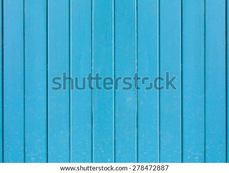 Old wood texture blue background.(Packed with dirt traces of mud)