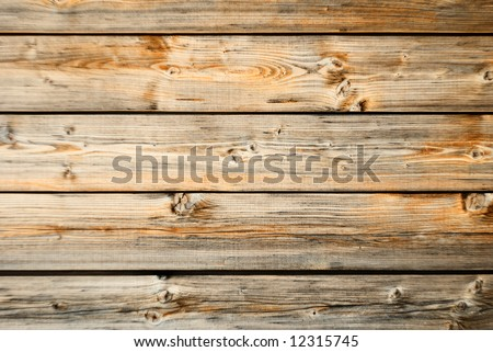 Old wood wall texture with horizontal orientation