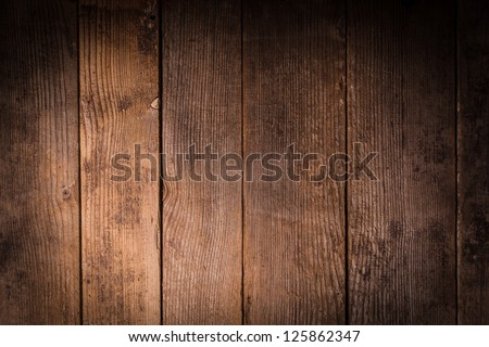 Old wooden background closeup for design - stock photo