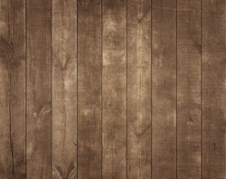 Old wooden background. Rustic style wallpaper. Timber texture. Kitchen table