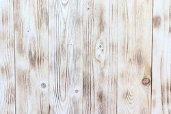 Old wooden background. Wooden burn plank. Old wooden background. White wood.