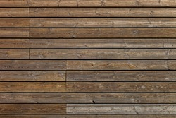 Old wooden boards background of brown color.