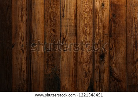 Old wooden boards. Wooden background with copy space. #1221546451