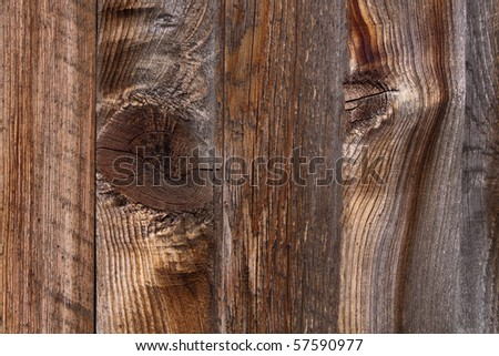 Old Wooden Fence Boards