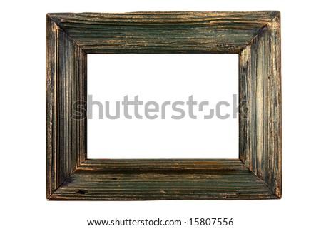 Old Wooden Picture Frames Old Wooden Frame