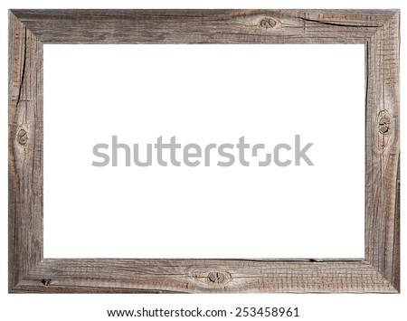 old wooden frame 253458961 - Wood Picture Frame