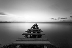 Old Wooden Jetty, Cleveland