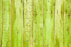 Old wooden painted fence. Painted boards. Background