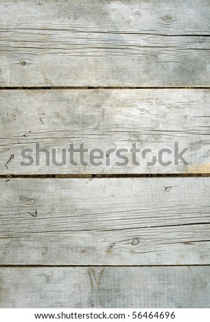 Old wooden planks horizontaly oriented