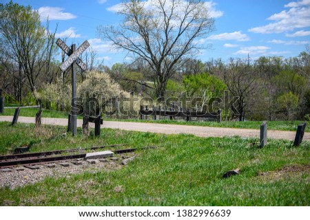 Railroad crossing signs Images and Stock Photos - Page: 4
