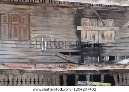 old wooden structures #1204297432