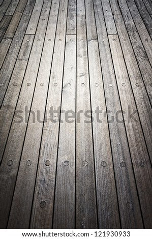 Old wooden vintage board background
