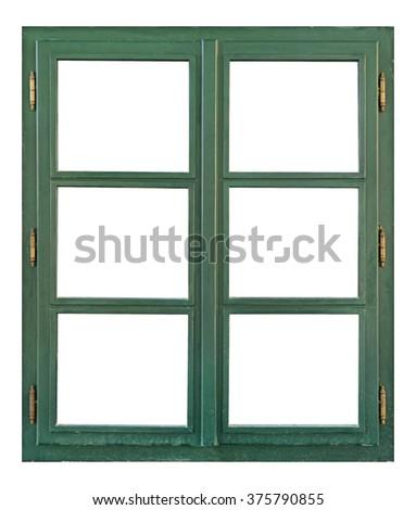 Free photos Old weathered 6 pane window isolated on white | Avopix.com