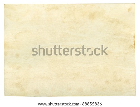 Old worn grunge paper background
