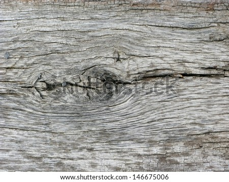 Old, worn wooden texture for use as background