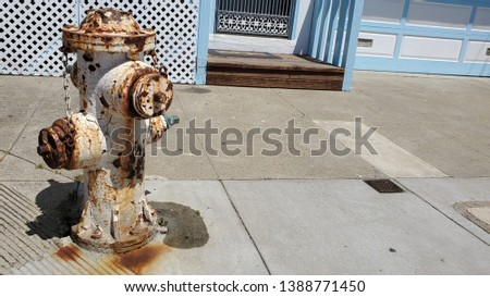 Rusty fire hydrant Images and Stock Photos - Avopix com