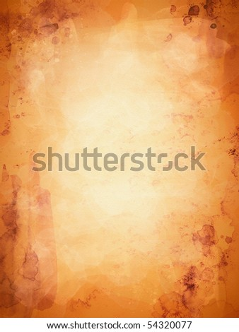 old yellow paper texture - stock photo