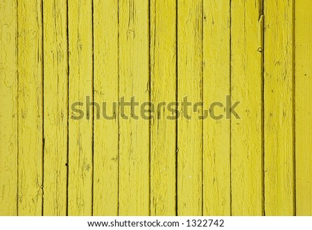 old yellow wooden wall