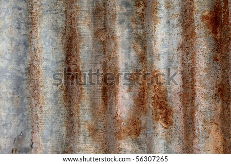 old Zinc texture model#8 - stock photo