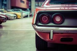 Oldtimer detail rear view