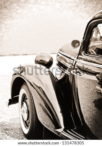oldtimer in classic style