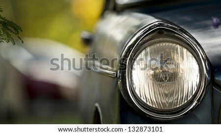 Oldtimer, vintage light car, classic. - stock photo