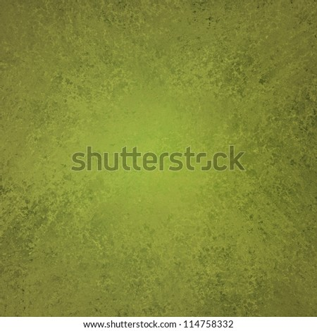 olive green background elegant design with vintage grunge background texture layout or green paper stationary or book cover of solid blank abstract paint wall or wallpaper for web background template