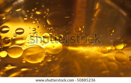 Olive Oil and water