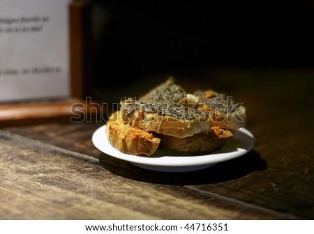 olive tapenade bruschetta