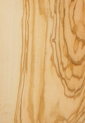 Olive tree veneer, natural wood pattern for the manufacture of furniture, parquet, doors.