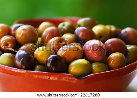 Olives of Portugal.