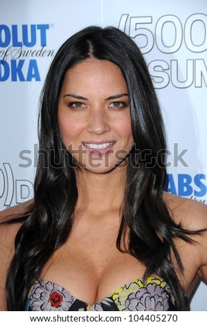 Olivia Munn at the Los Angeles Premiere of '500 days of Summer'. Egyptian Theatre, Hollywood, CA. 06-24-09