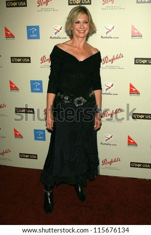 Olivia Newton-John at the G'Day USA Penfolds Black Tie Icon Gala. Hyatt Regency Century Plaza, Los Angeles, CA. 01-13-07