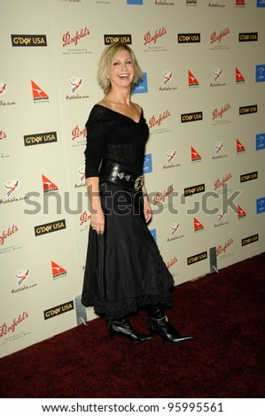OLIVIA NEWTON JOHN at the Penfolds Icon Gala - part of the G'Day LA week - at the Century Plaza Hotel. January 13, 2007 Los Angeles, CA Picture: Paul Smith / Featureflash