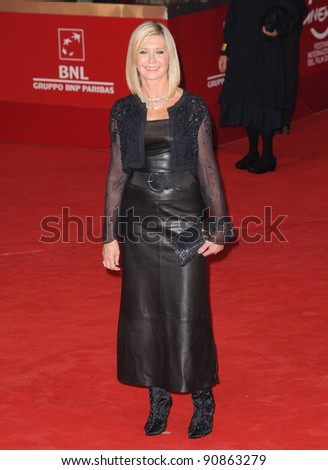 "Olivia Newton John at the premiere of ""A Few Best Men"" during the 6th International Rome Film Festival. Oct 28, 2011, Rome, Italy Picture: Catchlight Media / Featureflash"
