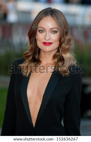 """Olivia Wilde arriving for the """"Rush"""" World premiere at the Odeon Leicester Square, London. 02/09/2013"""
