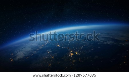 Olorful galaxy in space, beauty of universe, cloud of star, isolated with black background.