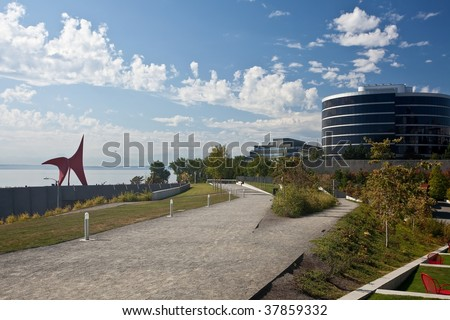 Olympic Sculpture Park is a public park in Seattle, Washington.