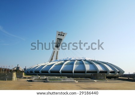Olympic stadium in Montreal