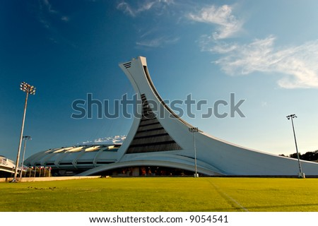 Olympic stadium in Montreal, QC