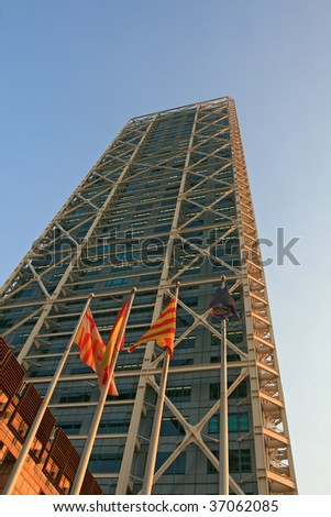 Olympic village tower, barcelona