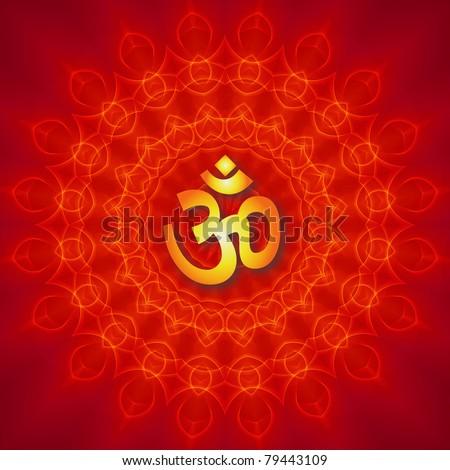 Om Mandala Design